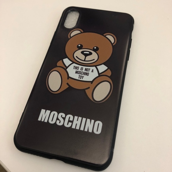 size 40 acea0 57fc6 Moschino iPhone X Case